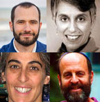 Rabbis Jeff Roth, Joanna Katz, Sheila Weinberg & Jordan Bendat-Appell